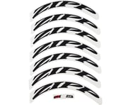 SCRATCH & DENT: ZIPP Decal Set (808 Matte Black Logo) (Complete for One Wheel) | relatedproducts