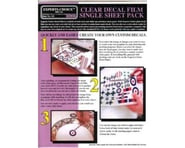 Bare Metal Foil 121 Clear Decal Film 8.5x11' Ink Jet (1 sheet) | relatedproducts