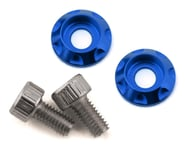 Team Brood M3 Motor Washer Heatsink w/Screws (Blue) (2) | relatedproducts