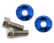 Team Brood M3 Motor Washer Heatsink w/Screws (Blue) (2) (8mm) | alsopurchased