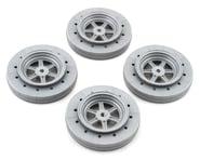 DE Racing Gambler Drag Racing Front Wheels (Silver) | relatedproducts