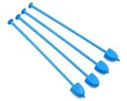 DE Racing Zip Stix Tire Organizers (Blue) (4) | relatedproducts