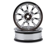 "DragRace Concepts AXIS 2.2"" Drag Racing Front Wheels w/12mm Hex (Chrome) (2) 