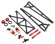 DragRace Concepts Slider Wheelie Bar w/O-Ring Wheels (Red) (Mid Motor) | alsopurchased