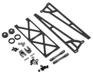 DragRace Concepts Slider Wheelie Bar w/O-Ring Wheels (Grey) (Mid Motor) | alsopurchased