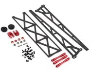 "DragRace Concepts 10"" Slider Wheelie Bar w/Plastic Wheels (Red) (Mid Motor) 