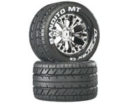 """DuraTrax Bandito MT 2.8"""" 2WD Mounted Rear Tires, Chrome (2)   relatedproducts"""