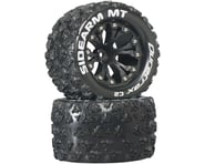 """DuraTrax Sidearm MT 2.8"""" 2WD Mounted Rear C2 Tires, Black (2) 
