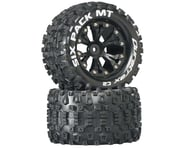 "DuraTrax Sixpack MT 2.8"" 2WD Rear Mounted Truck Tires (Black) (2) 