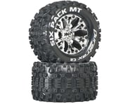 DuraTrax Sixpack MT 2.8 Mounted Truck Tires 2WD 1/2 Offset Chrome DTXC3523 | product-related
