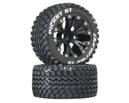 "DuraTrax Picket ST 2.8"" 2WD Mounted Front C2 Tires, Black (2) 