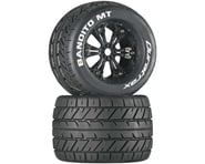 DuraTrax Bandito 3.8 Mounted MT Tires Black (2) DTXC3574 | product-related