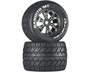 "DuraTrax Bandito MT 3.8"" Pre-Mounted Tires (Chrome) (2) 