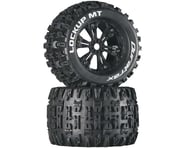 "DuraTrax Lockup MT 3.8"" Mounted Tires, Black (2) 