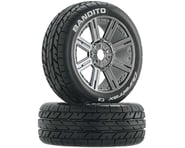 DuraTrax Bandito 1/8 Mounted Buggy Tires (Chrome) (2) (C2) | relatedproducts