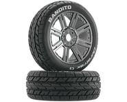 DuraTrax Bandito 1/8 Buggy PreMounted Tire w/ Spoke Wheels (Chrome) (2) (C3) | alsopurchased