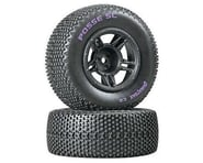 DuraTrax Posse SC C2 Mounted Tires, Front: Slash (2) | relatedproducts