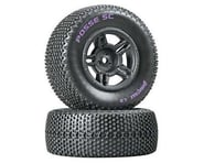 DuraTrax Posse Pre-Mounted Short Course Tire (Black) (2) (Soft - C2) | relatedproducts