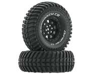 "DuraTrax Approach CR C3 Mounted 1.9"" Crawler Tires (Black) (2) 