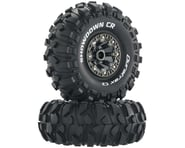 "DuraTrax Showdown CR C3 Mntd 2.2"" Crawler Tires, Chrome (2) | relatedproducts"