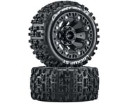 "DuraTrax Lockup Pre-Mounted Stadium Truck 2.2"" Tires (Black) (2) 