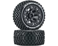 """DuraTrax Six Pack ST 2.2"""" Tires (Black) (2) 