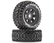 DuraTrax Six Pack SC Mounted Soft Tires, Black 17mm Hex (2) | relatedproducts