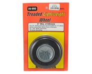 "DuBro 4"" Treaded Lite Wheel 