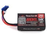Dynamite Reaction 2S 50C Hard Case LiPo Battery w/EC2 Connector (7.4V/800mAh) | relatedproducts