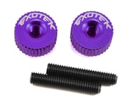Exotek M3 Twist Nut (Purple) | alsopurchased