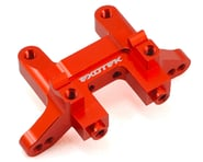 Exotek RB6 Aluminum Rear Bulkhead (Mid Motor) (Red) | product-related