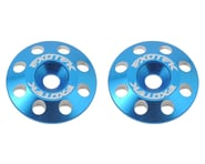 Exotek Flite V2 16mm Aluminum Wing Buttons (2) (Blue) | alsopurchased