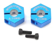 Exotek 12mm B6 HD Aluminum Hex (Blue) (2) | relatedproducts