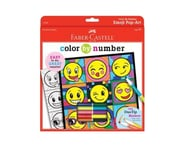 Faber-Castell Color By Number Emoji Pop-Art | relatedproducts