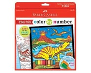 Faber-Castell Color By Number T-Rex Foil Fun | relatedproducts