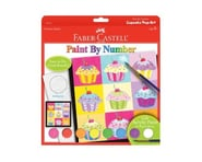 Faber-Castell - Paint by Number Cupcake Pop-Art Kit | relatedproducts