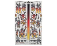 "Firebrand RC Flames Fire Fade Decal Sheet (Orange/Red) (8.5x14"") 
