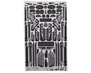 Firebrand RC Pipes & Mufflers Multi-Fit Decal Sheet | relatedproducts