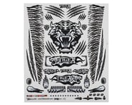 "Firebrand RC Concept Tiger Decal Sheet (Black) (8.5x11"") 
