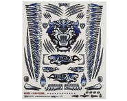 "Firebrand RC Concept Tiger Decal Sheet (Blue) (8.5x11"") 