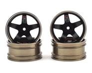 Firebrand RC HighFive PRO SERIES Aluminum Drift Wheels (4) (Gunmetal/Black) | alsopurchased