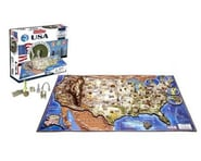 4D Cityscape USA Map 4D Timeline Puzzle (950+pcs) | relatedproducts