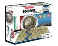 4D Cityscape Rome, Italy 4D Cityscape Timeline Puzzle (1200+pcs | relatedproducts