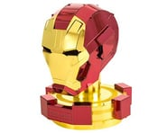 Fascinations Metal Earth Marvel Iron Man Helmet 3D Metal Model Kit | relatedproducts