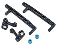 """Factory RC Team Associated """"6"""" series Battery Retention System (Blue) 