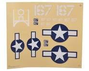 HobbyZone Corsair S Decal Sheet | relatedproducts