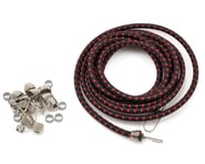 Hot Racing 1/10 Bungee Cord Kit (Black/Red) | product-related