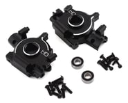 Hot Racing Losi Super Baja Rey/Rock Rey Aluminum Front Gear Box/Bulkhead (Black) | relatedproducts
