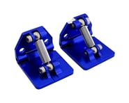 Hot Racing Traxxas Spartan Aluminum Adjustable Trim Tab Set (Blue) | relatedproducts