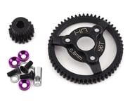 Hot Racing Traxxas 32P Steel Pinion & Spur Gear Set (Purple) (18T/56T) | relatedproducts